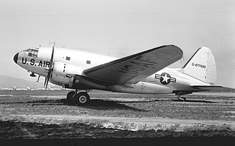 435th Air Ground Operations Wing - Curtiss C-46D