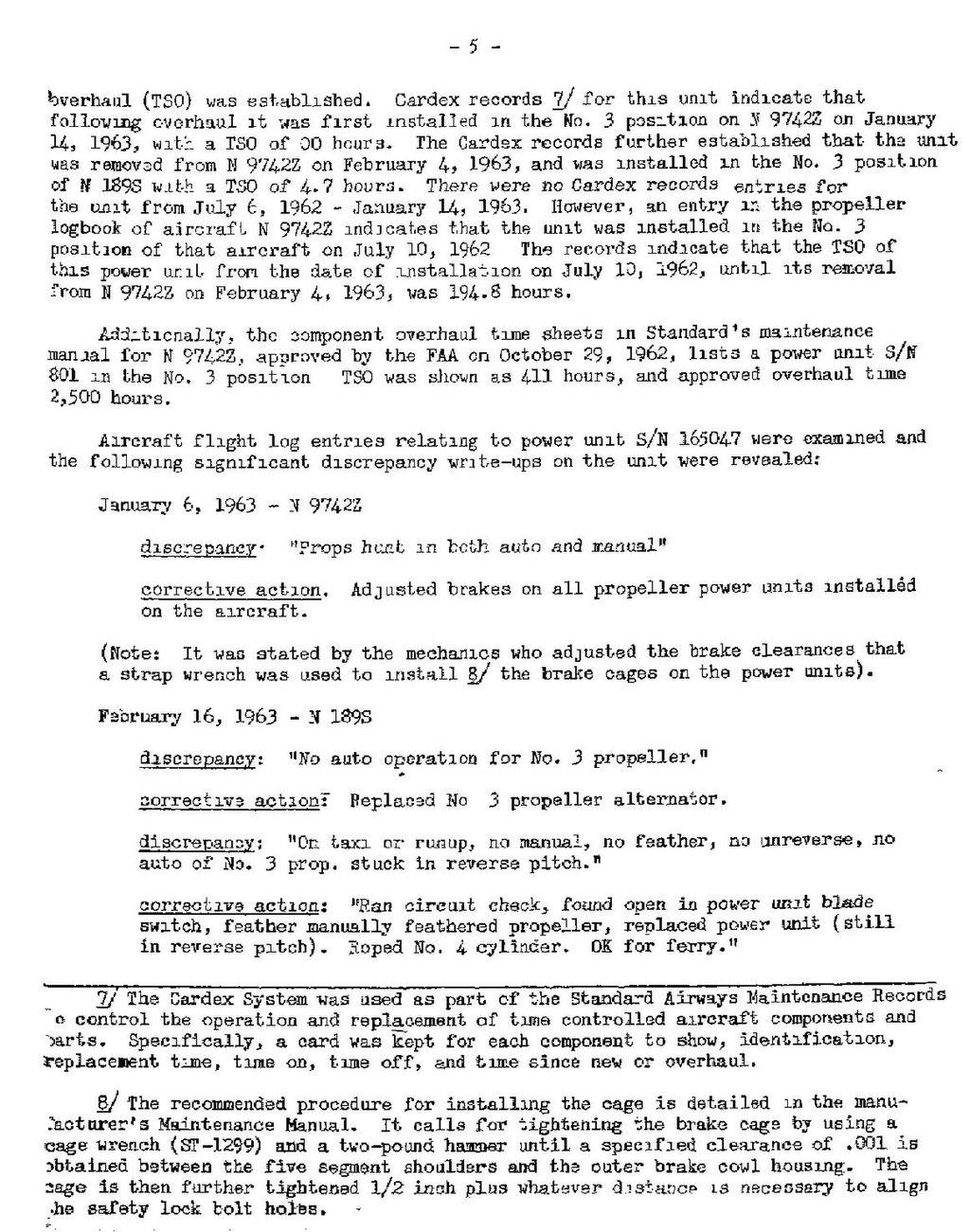 Page:CAB Accident Report, Standard Airways Flight 388C pdf/5