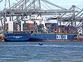 CMA CGM Balzac pic4, at the Amazone harbour, Port of Rotterdam, Holland 14-Jul-2007.jpg