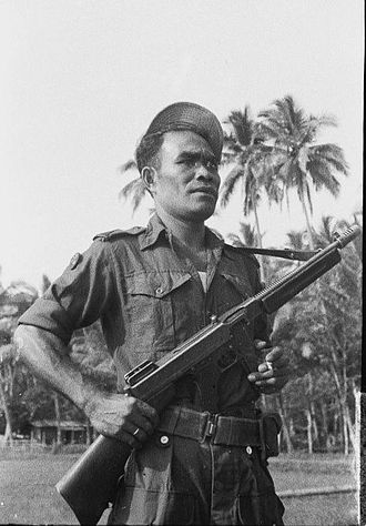 Republic of South Maluku - South Moluccan KNIL soldier