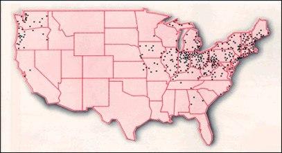 CSO map EPA 2008