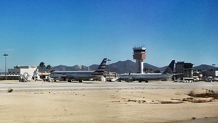 Los Cabos Airport Tower, view from tarmac Cabo tarmac.jpeg