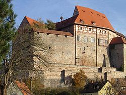 Cadolzburg Castle (from 1260 seat of the Burgraves of Nuremberg)
