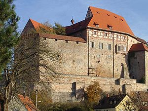 Burgraviate of Nuremberg - Cadolzburg Castle (from 1260 seat of the Burgraves)