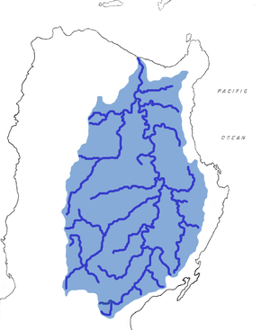 Gaddang people - The Cagayan River and its tributaries on Luzon, Philippines.  Gaddang homelands are in the lower-left quadrant.