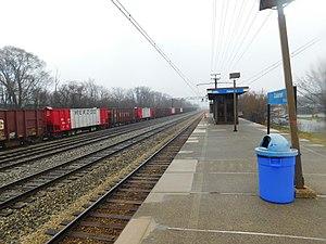 Calumet station (Illinois) - Calumet station in March 2017.