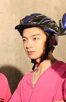 Calvin Chen at the Let's Bike Taiwan 2009 (cropped).jpg