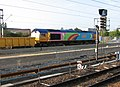Cambridge Station, new platform and engineers' train - geograph.org.uk - 2510816.jpg