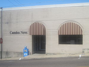 Camden, Arkansas - The Camden News offices