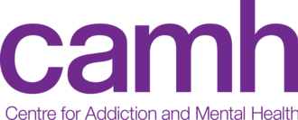 Centre for Addiction and Mental Health - Image: Camh logo purple