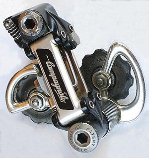 Derailleur gears - Campagnolo Super Record rear derailleur (1983)