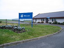 Campbeltown Airport Terminal during 2006.