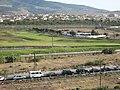 Campo de golf de Melilla y acceso al paso fronterizo de Farjana.jpg