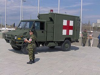 Western Star Trucks - Canadian Forces LSVW light truck