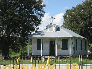 Isleños in Louisiana - Historic Canary Islanders Home, Poydras, Louisiana