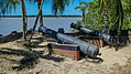 Cannon near Fort Nieuw Amsterdam in Suriname (30451879073).jpg