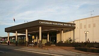 Hurlstone Park, New South Wales - Canterbury Hurlstone Park RSL Club