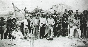War of Canudos - The 24th Infantry Battalion in Canudos, 1897.