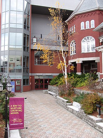 Capitol Center for the Arts - Image: Capitol Center for the Arts, Concord NH