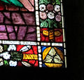 Cappella tornabuoni, vetrata B 03 emblema tornabuoni tre punte di diamante.jpg
