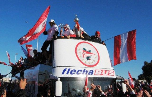 Caravana Campeón Libertadores 09