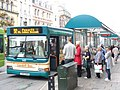 Cardiff Bus in City Centre - geograph.org.uk - 1422425.jpg