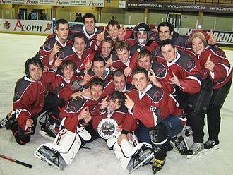 Cardiff Redhawks - Cardiff Redhawks B 2009 Celtic Plate Winners