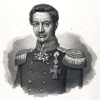 Chief of the Royal Danish Army - Image: Carl Julius Flensborg
