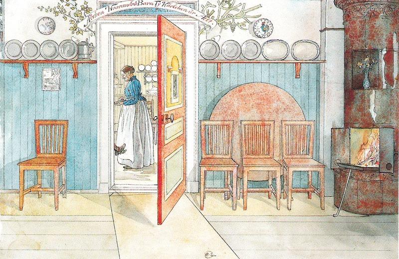 Файл: Карл Ларссон - Гамла Анна - Этт Хем - 1899.tif