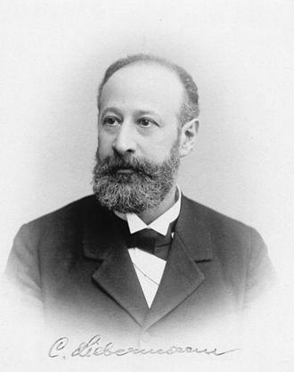 Carl Theodore Liebermann - Carl Theodor Liebermann
