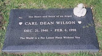 Carl Wilson - Carl Wilson's headstone over his grave.