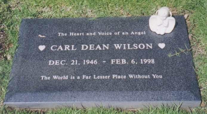 Carl Wilson headstone