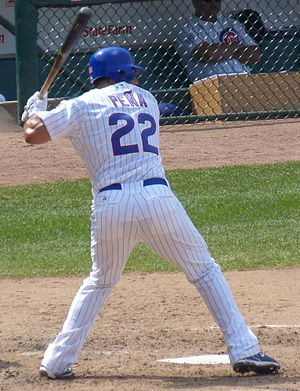 Carlos Peña - Peña with the Cubs in 2011