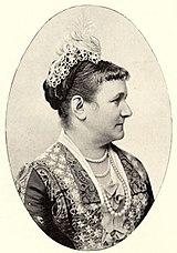 Königin Carola und König Albert von Sachsen (Quelle: Wikimedia)