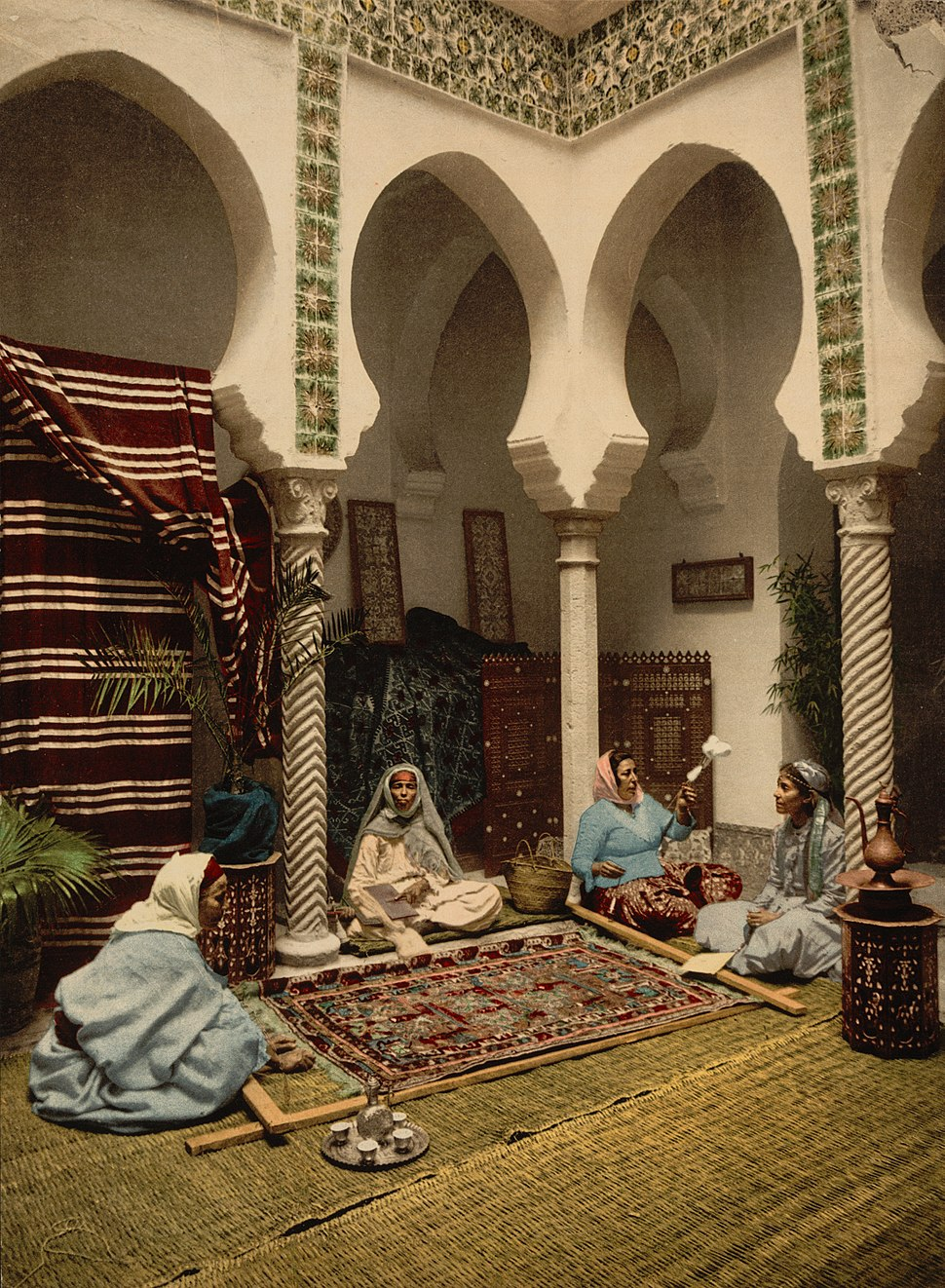 CarpetmakingAlgiers1899