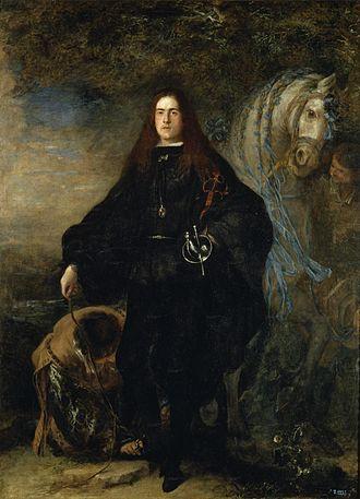 Gregorio María de Silva y Mendoza, 9th Duke of the Infantado - Gregorio María de Silva y Mendoza by Juan Carreño de Miranda (Museo del Prado)