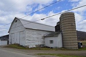 Carrollton, New York - A farm on Parkside Drive, south of Limestone