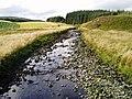 Carsphairn Lane upstream from Lamloch Bridge - geograph.org.uk - 541562.jpg