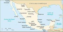 Description de l'image Carte du Mexique.jpg.