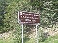 Cartello altezza massima strade Appennino Ligure.jpg