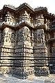 Carved Outer walls Hoysaleswara Temple Halebid.jpg