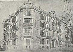 Edificio de viviendas en Alfonso XII, Madrid (1900)