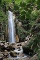 Cascata naturale di 30 metri -Senerchia Oasi naturale Valle della Caccia -Avellino 35.jpg