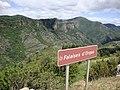 Castanet-le-Haut (Hérault, Fr) vue sur les falaises d'Olque.jpg