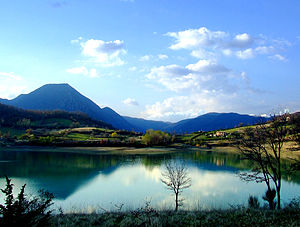 Province of Isernia - Lake of Castel San Vincenzo.