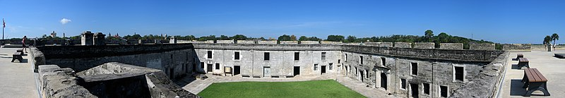 File:Castillo de San Marcos Fort Panorama 6.jpg