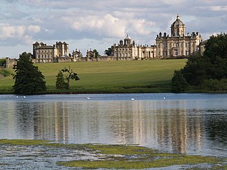 Brideshead Revisited (TV serial) - Castle Howard in North Yorkshire was used as Brideshead in the miniseries.