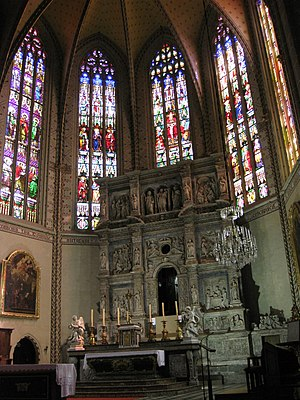 Perpignan Cathedral - The chancel