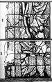 Cathédrale - Vitrail, Chapelle Jeanne d'Arc, la Vierge et l'Enfant, saint jean, baie 36, onzième panneau, en haut - Rouen - Médiathèque de l'architecture et du patrimoine - APMH00031343.jpg