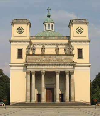 Architecture of cathedrals and great churches - Cathedral, Vác